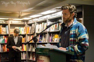 Gavin Corbett at Rob Doyle This Is The Ritual Book Launch 2016
