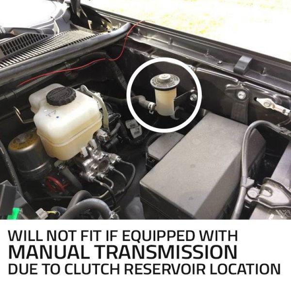 trigger controller Toyota Tacoma underhood bracket 2019 manual transmission no fit