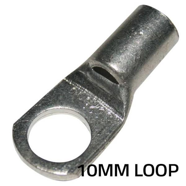 Terminal Loop Ends - 10mm 3AWG