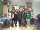 Grupo de telémacas de la ETSEM con su mentora.