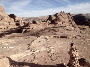 Petra above the Monastery