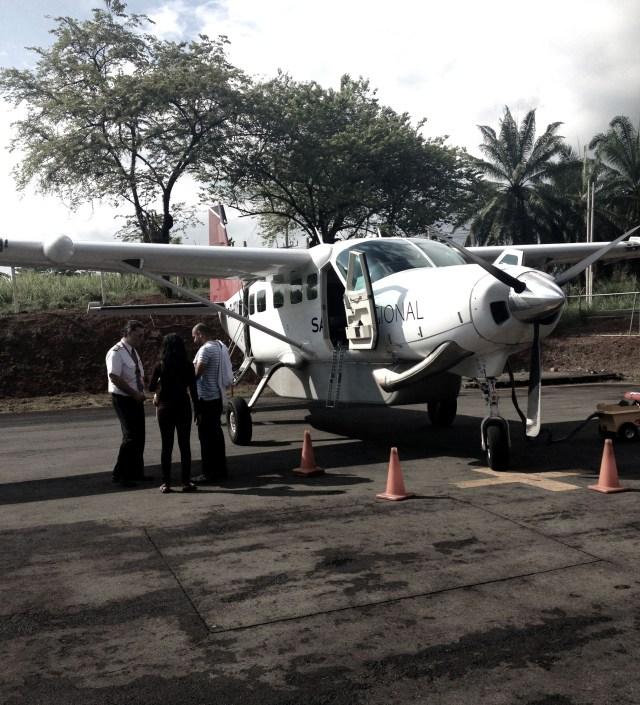 Costa Rican bushplane