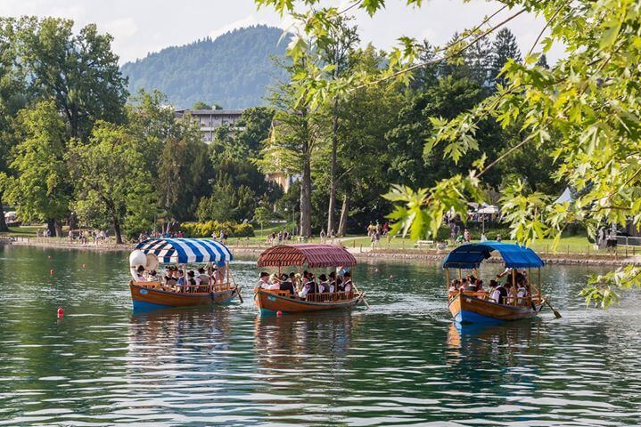 Opening of the summer season in Bled