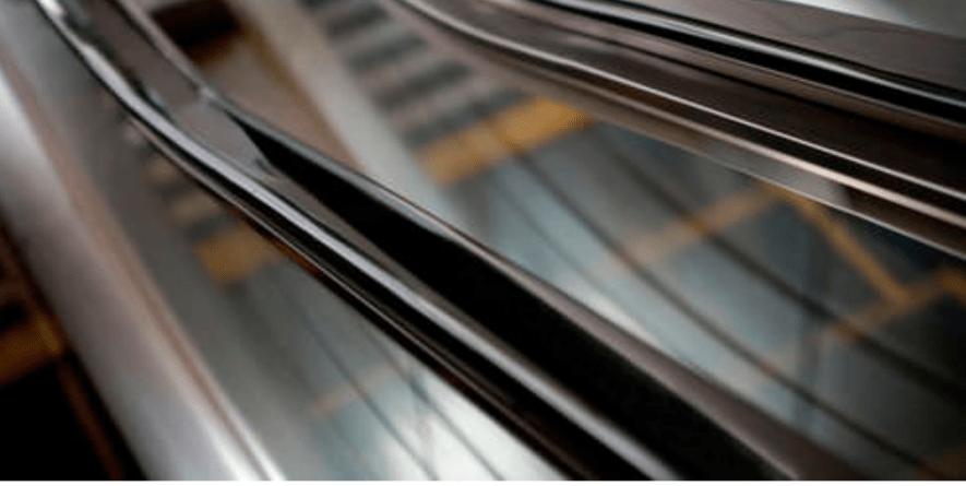 Pasamanos para escaleras mecánicas