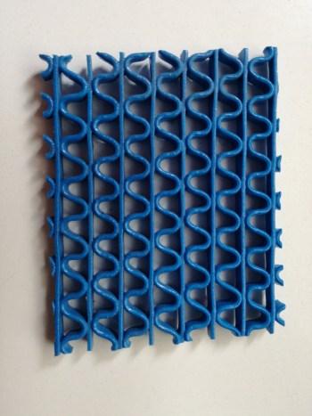 Pavimento de plástico antideslizante para vestuario