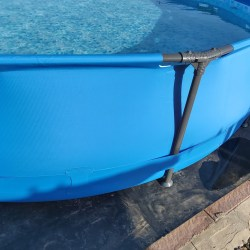 goma para suelo piscinas