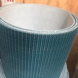 Banda transportadora de PVC verde