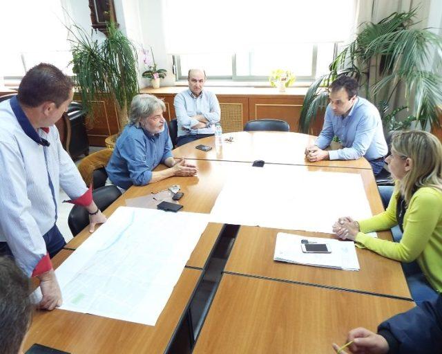 Από τη συνάντηση για το κυκλοφοριακό με το Αστικό ΚΤΕΛ στο Δημαρχείο