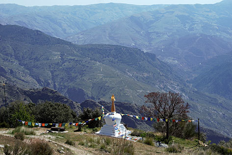 Osel Ling Retiro espiritual y Abadía de Monjas en la Alpujarra