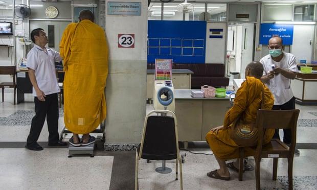Monjes Tailandia Salud