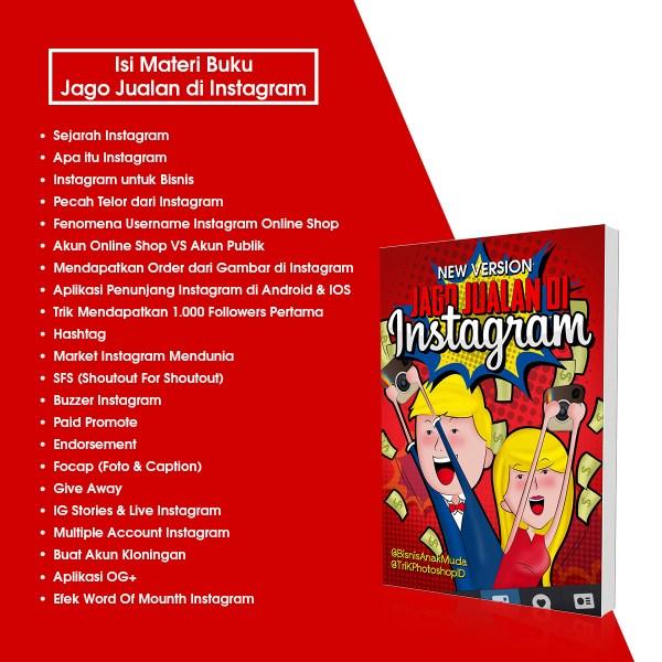 isi materi buku jago jualan di instagram