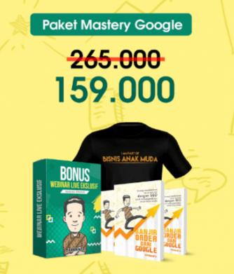 Contoh Bundling Paket Mastery Google