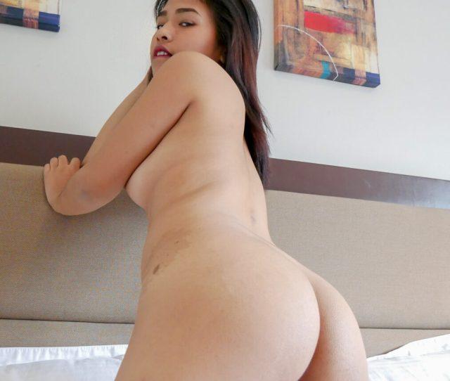 Asian Teen Ass Up Close
