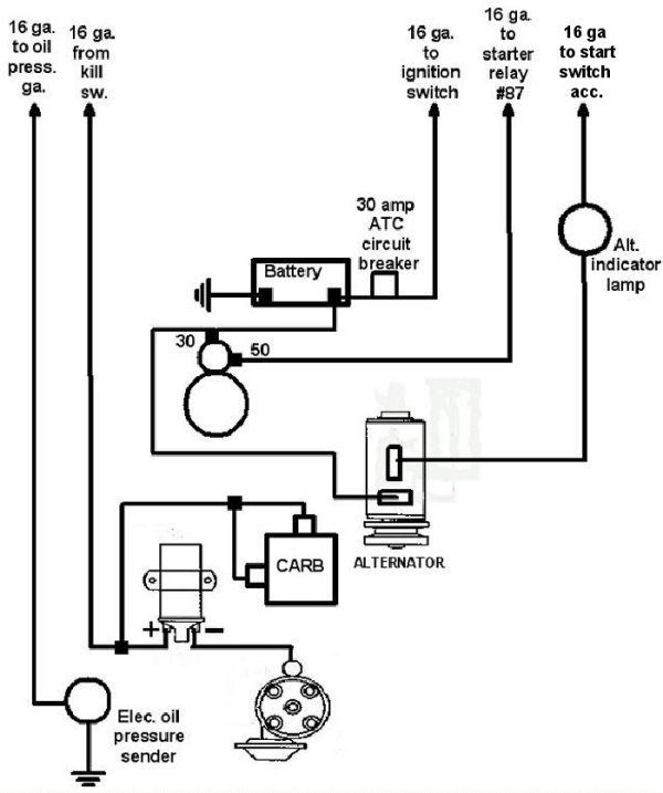 vw tech article 1966 67 wiring 67 vw parts