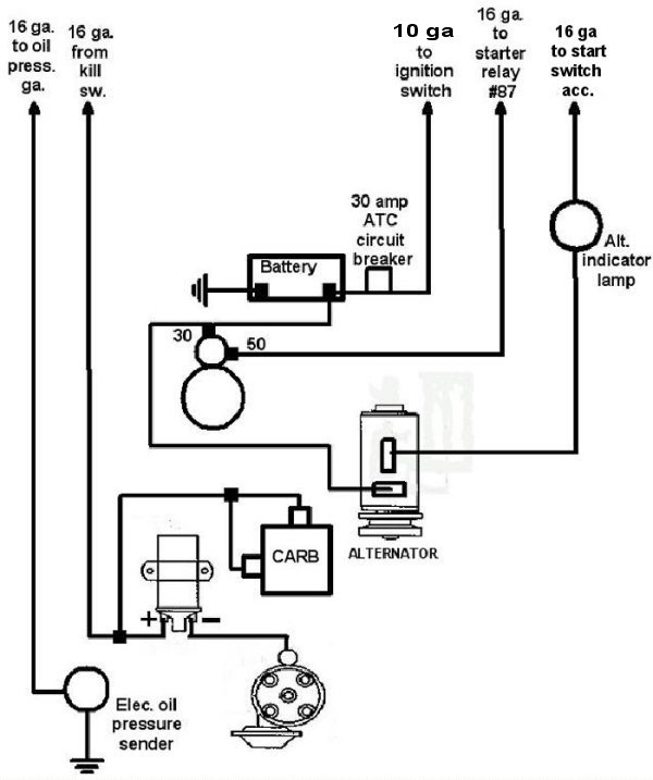 Vw Sand Rail Wiring Diagram on 3 way light switch schematic