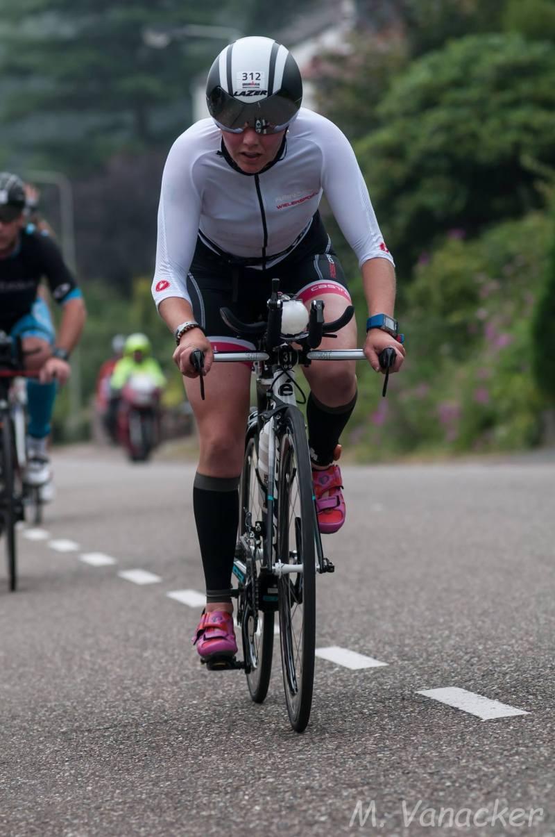 Janien Lubben fiets Mario