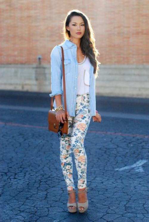 Джинсовая рубашка с джинсами – С чем носить рубашку ...