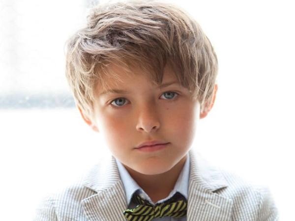 Стрижка для мальчиков с челкой на бок – Модные стрижки для ...