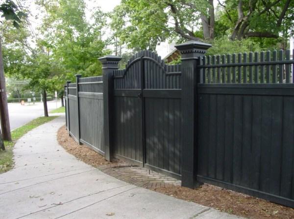 Дома ограда – Красивые заборы для частных загородных домов ...
