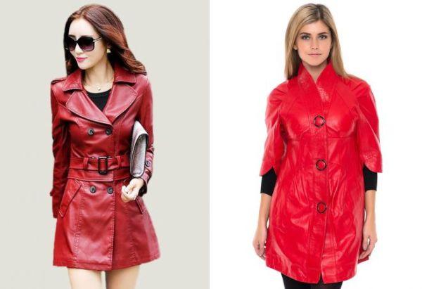 С чем носить красную кожаную куртку фото – Красная кожаная ...