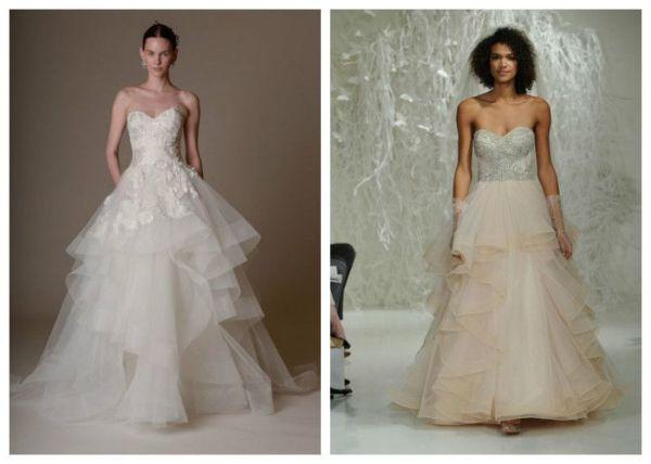 Белые пышные свадебные платья фото – Ой! — triksklad.ru ...
