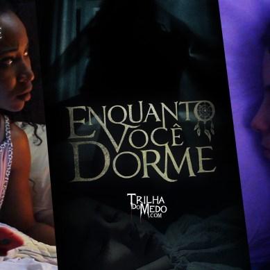 Dois mini filmes de terror de arrepiar | Adaptações do livro 'Enquanto Você Dorme'