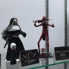 Feira de brinquedos de Nova York teve vários personagens de terror
