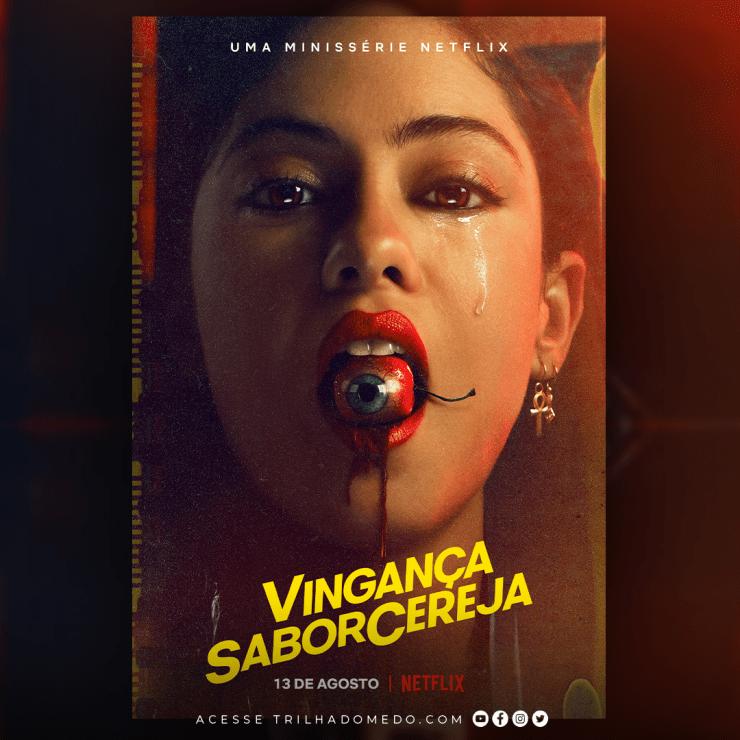 Vingança Sabor Cereja - Trailer da minissérie sobre cineasta que entra em um labirinto psicodélico de sexo, magia, vingança e… gatinhos