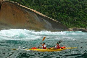 Expedição de caiaque oceânico cruzará 720 km