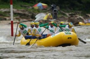 Equipe brasileira de rafting vence torneio na Eslováquia