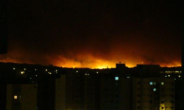 Incêndio já consumiu 25% do Parque Nacional de Brasília