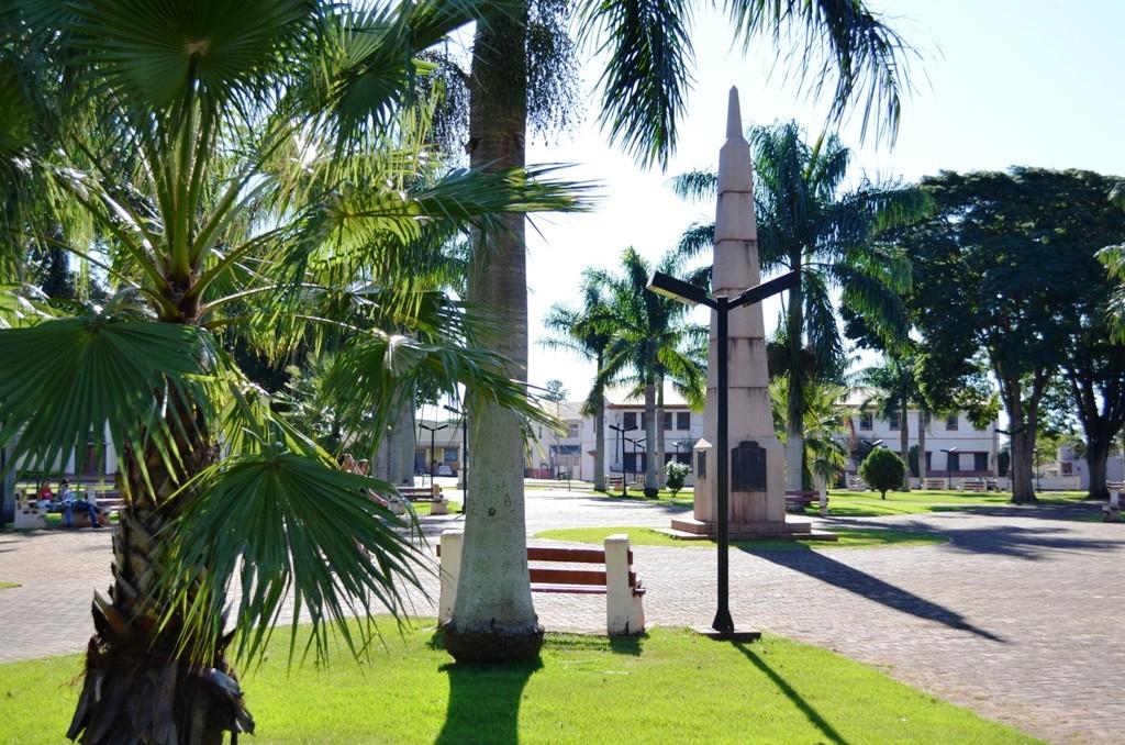 Praça Eleutério Galdino de Andrade em Peabiru