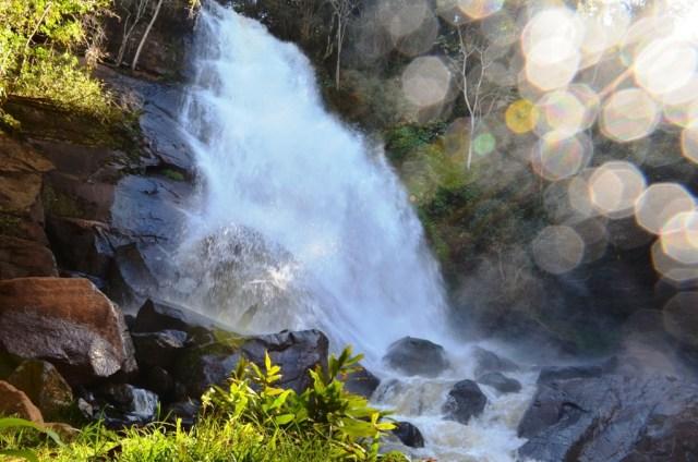 Cachoeira da Clauri em Mamborê