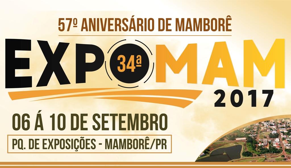 Cartaz Expomam 2017