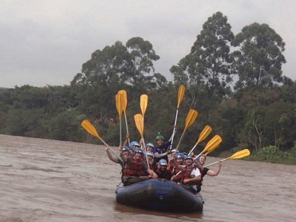 Rafting no Rio Tibagi - Operadora Guartelá Turismo