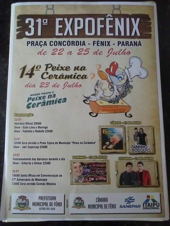 ExpoFênix e 14ª Festa do Peixe na Cerâmica