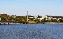 Parque do lago de Mamborê