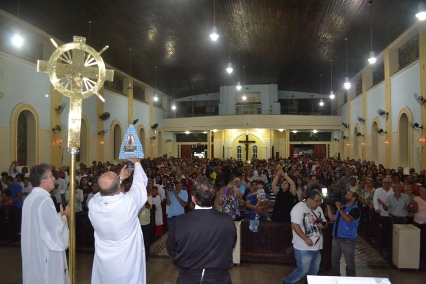 Missa abertura - Missa campal- Fotos: Comunicação Santuário de Nsra do Rocio