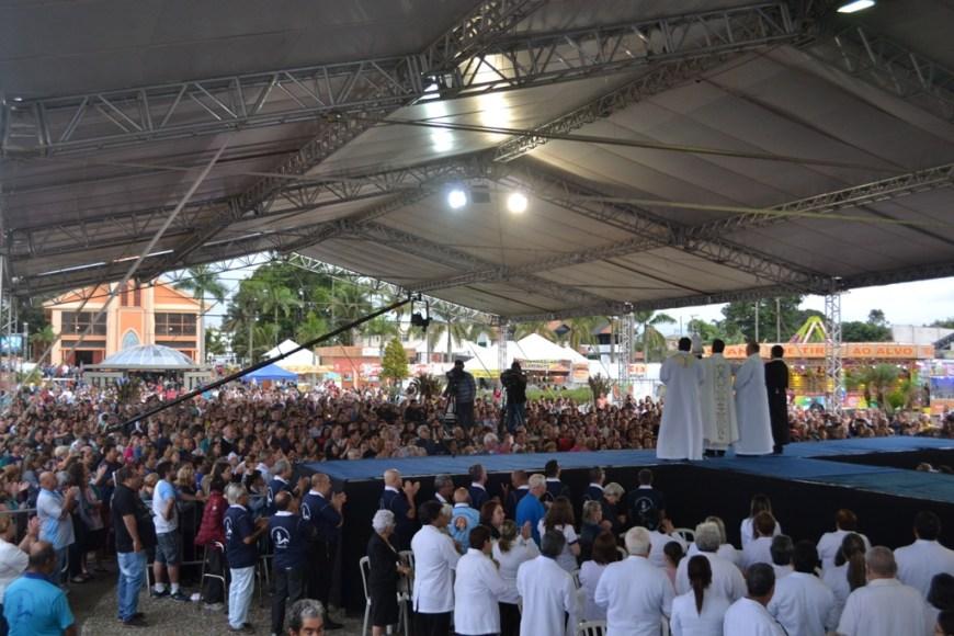 Missa campal- Fotos: Comunicação Santuário de Nsra do Rocio