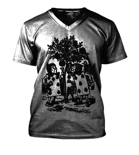 camiseta alice- loja