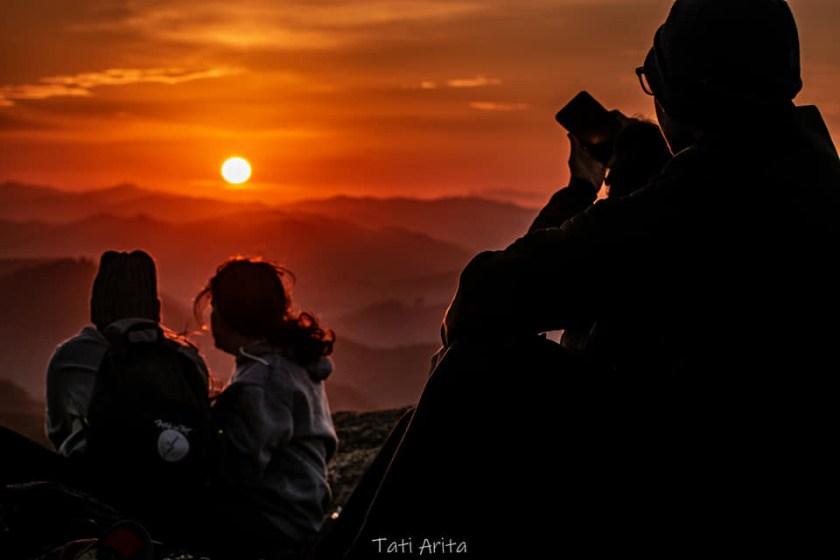 Pico do Lopo - Nascer do sol no cume