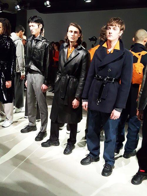 Tonsure AW18 at London Fashion Week Men's