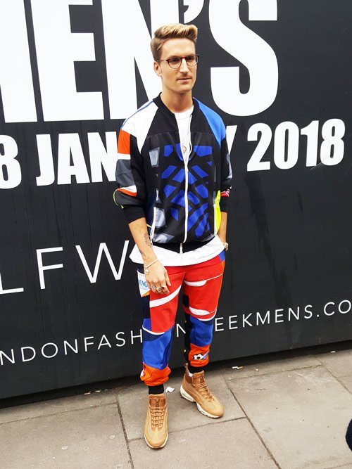 Ollie Proudlock after the show