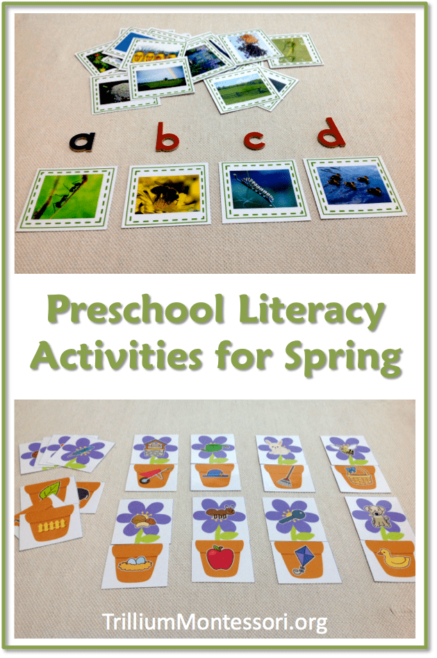 Literacy Activities for Spring