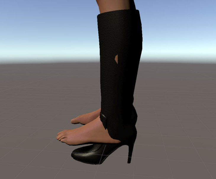 SineSpace boots and heels guide
