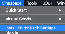 Install EP Settings