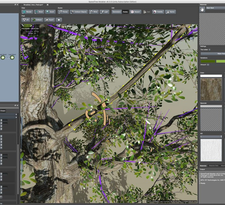 Speedtree 8 for Unity