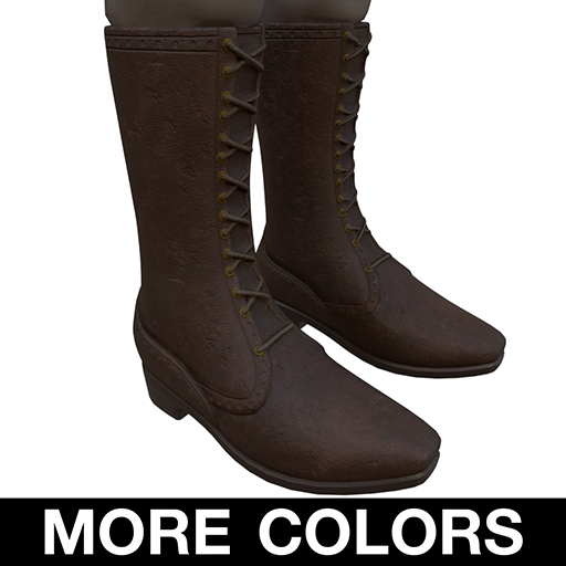 Lace Front Boots