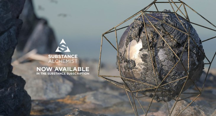 Substance Alchemist Now Available