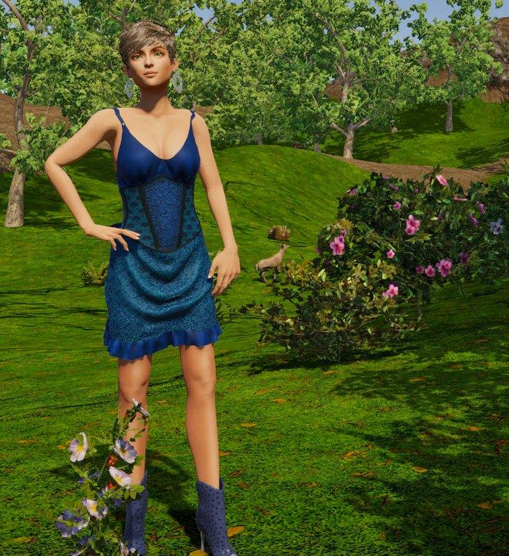 Chanteuse Dress